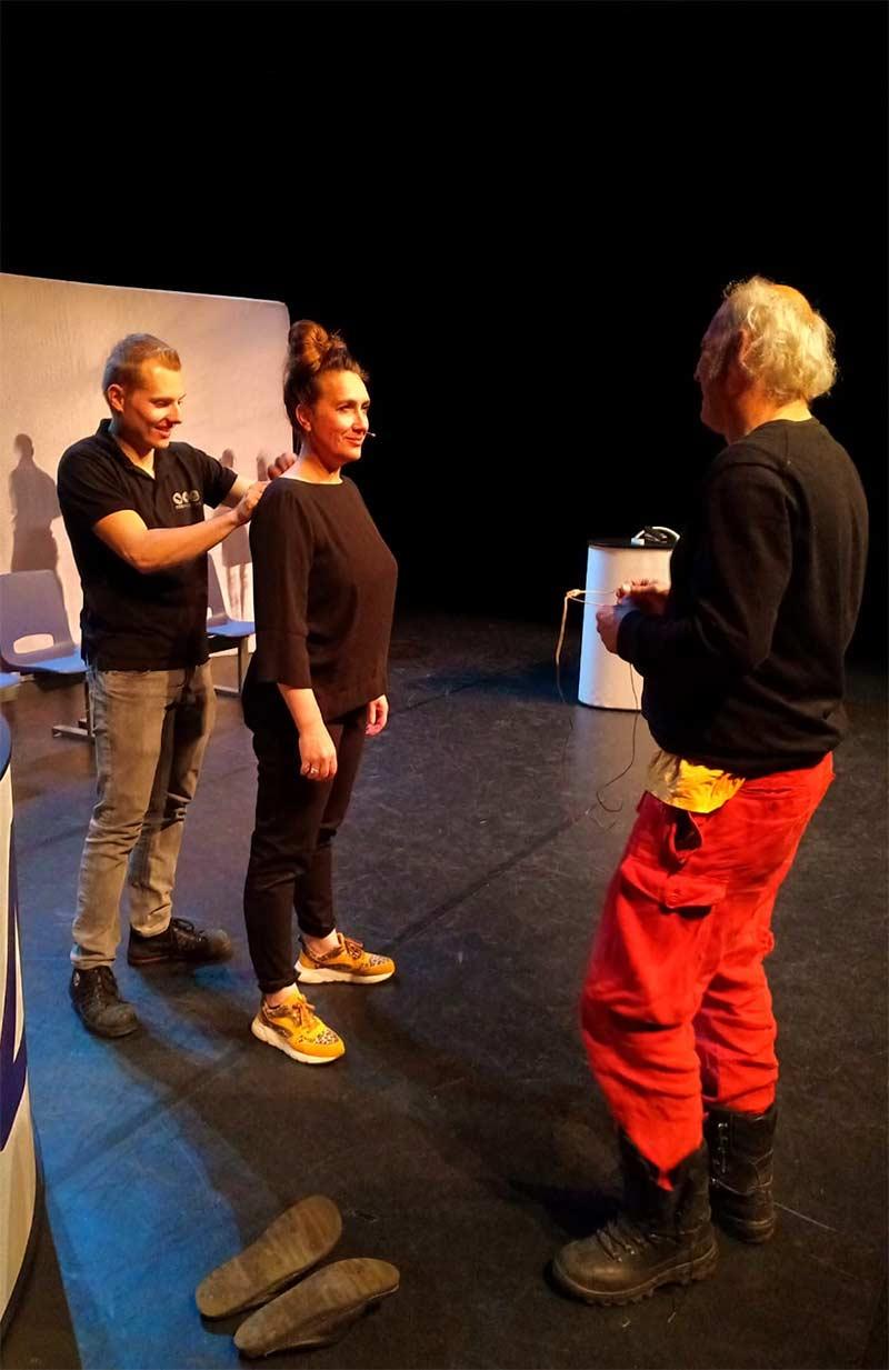 Auditietraining bij Leef Theater Bergen